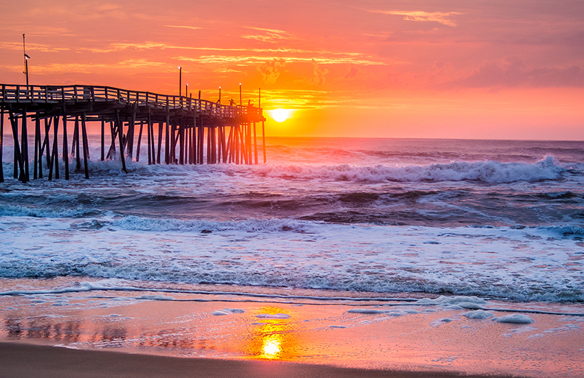 Top summer destination for family travel is Outer Banks, North Carolina