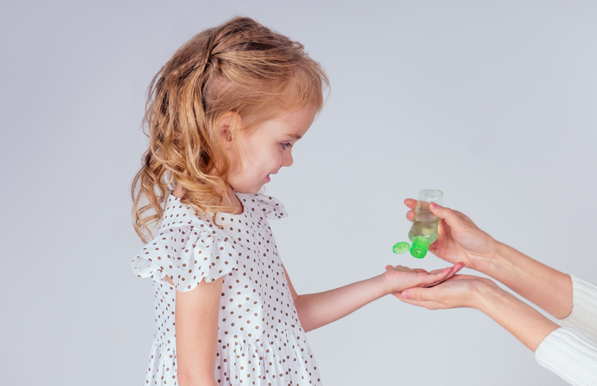 The best summer family travel planning tip is to pack sanitizer and disinfecting wipes