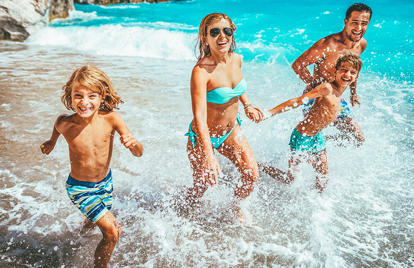 The top places for a family summer vacation