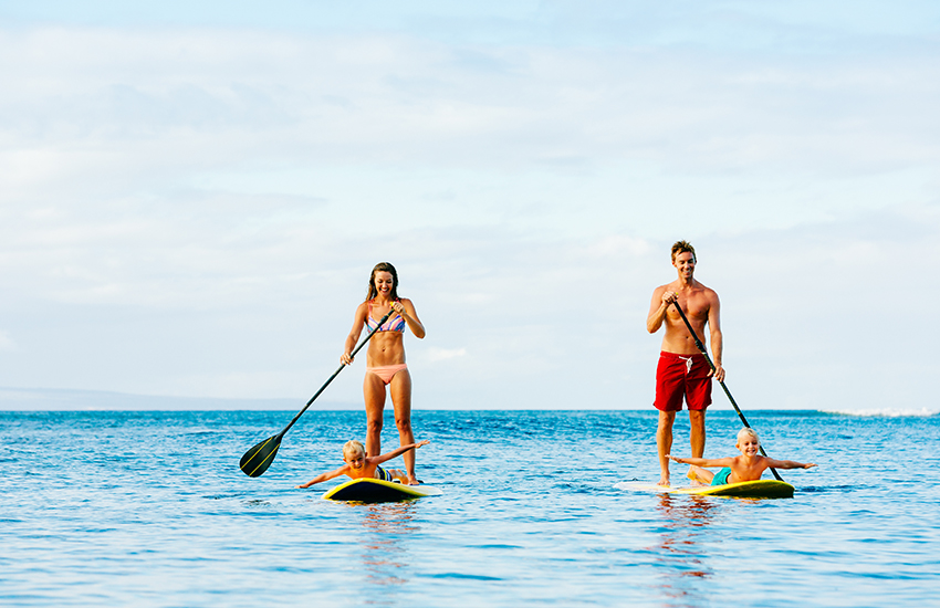 The top secret family travel planning idea is to book outdoor activities