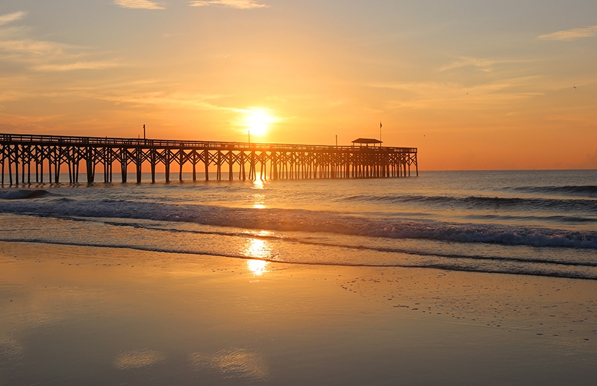 Top family winter destination is Pawleys Island, South Carolina