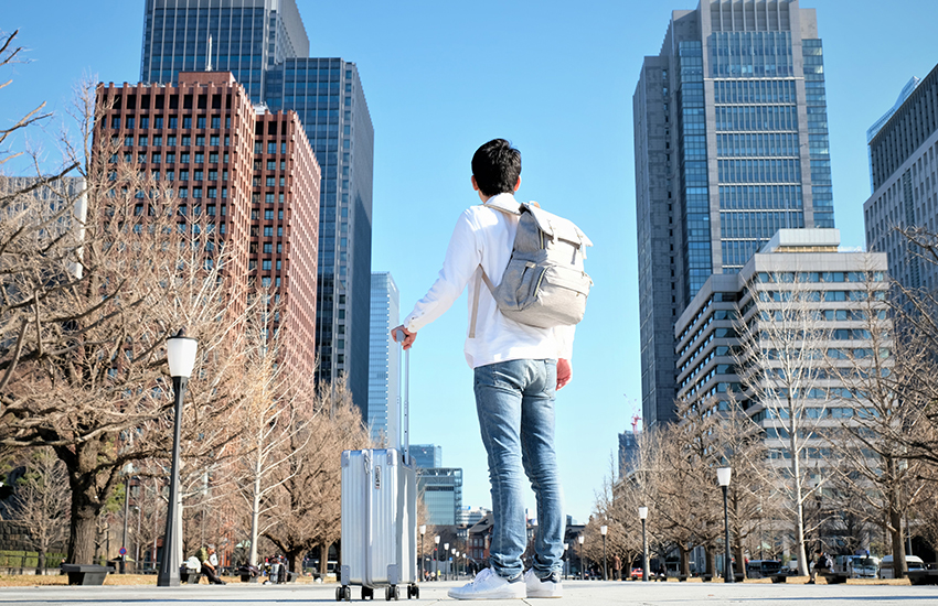 The ultimate luggage pickup service in New York City is ShipGo