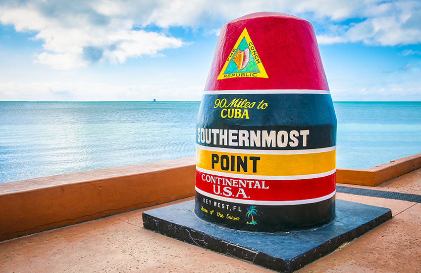 Best Memorial Day weekend vacation location is in Key West, Florida