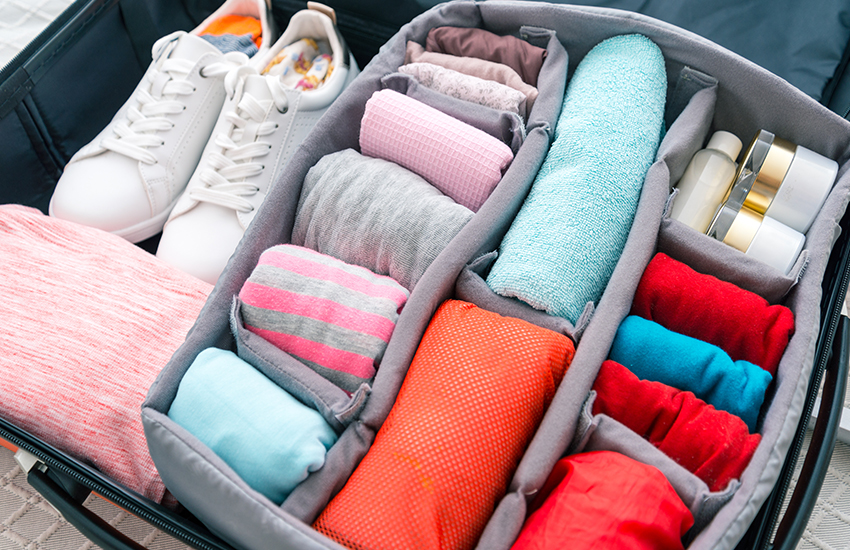 Top holiday travel gift ideas are luggage organizers