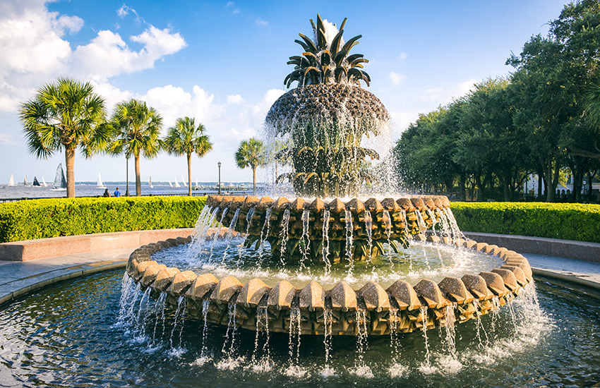 Memorial Day weekend vacation destination in Charleston, South Carolina