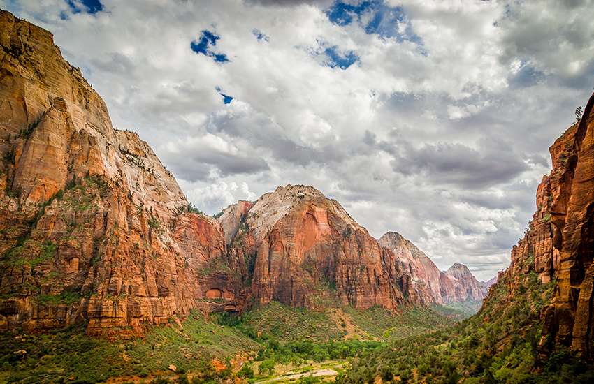 Top National Park to visit in the spring is Zion National Park