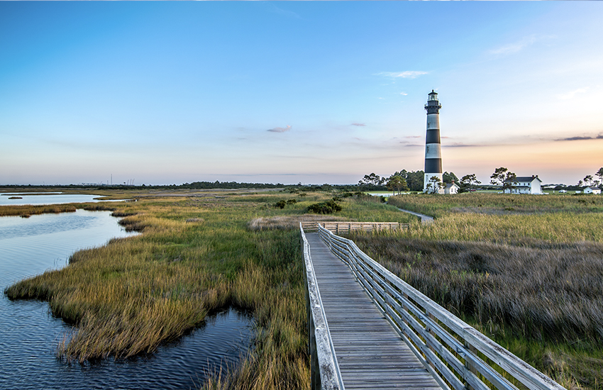 The best summer family location is Outer Banks in North Caorolina