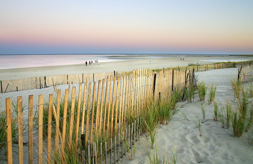 Top summer vacation spot in the North East is Cape Cod in Massachusetts